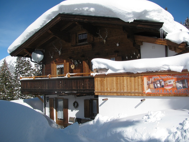 Hütte Thaler im Jänner 2012