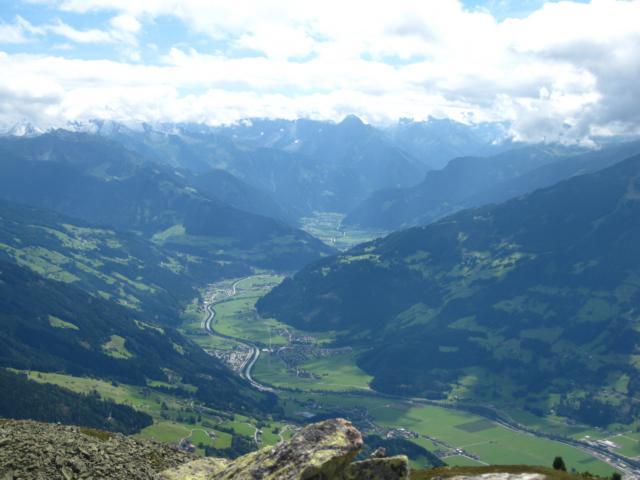 Blick über das Zillertal