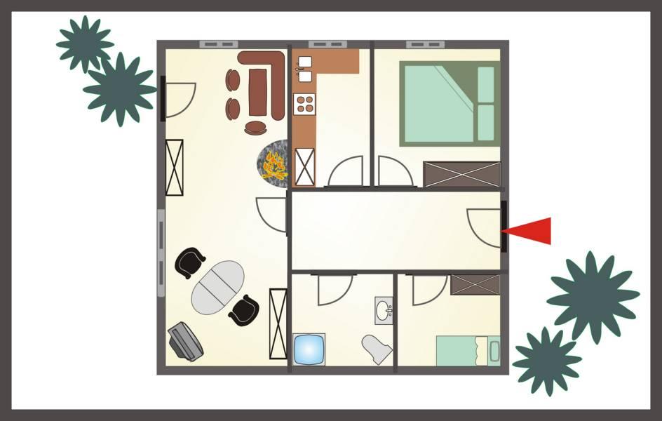 Plan EG Wohnung Platzhirsch
