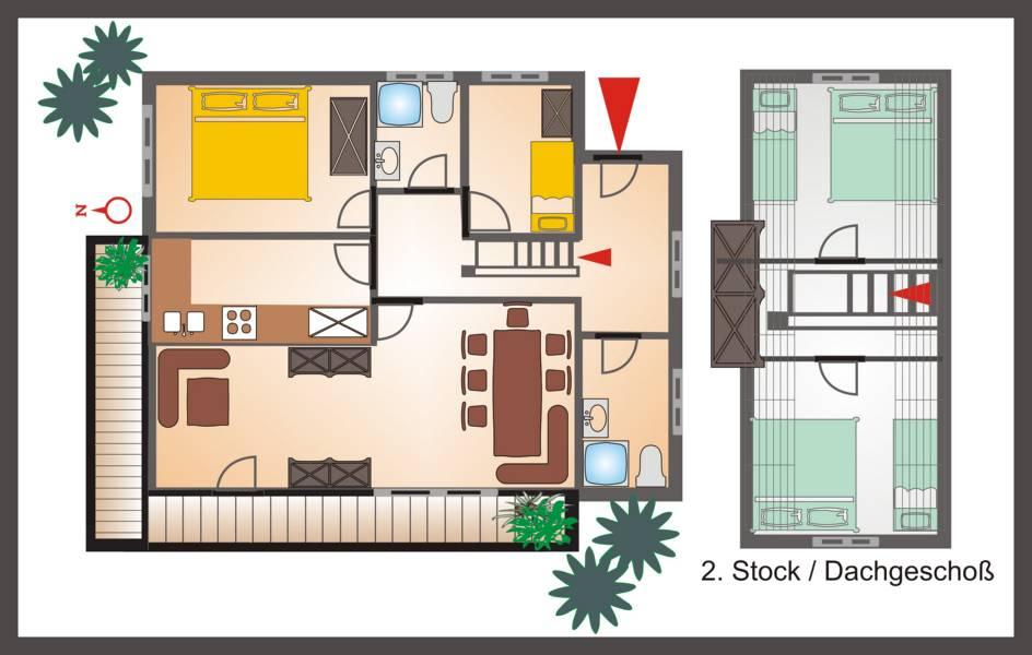 Plan OG Wohnung Gipfelstürmer