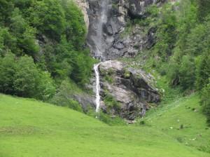 Wasserfall im Zillergrund